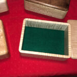 felt bottom jewelry box