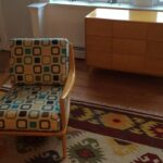 redone Wheat with new fabric Aristocraft chair