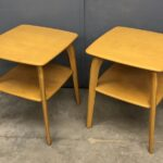 Redone Wheat  sold pair M337 Lamp tables