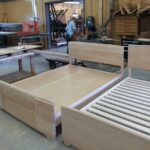 as new as new can be, still in the builders shop. Queen Riviera custom