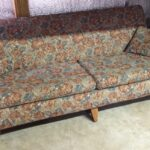 """M332 davenport. Should be totally redone. 76"""" wide sofa"""