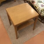 Redone Champagne  sold Square lamp table