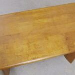 C3756 oblong coffee table $250 as is