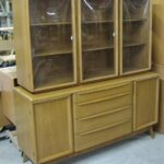 Triple Crown China on M1543 credenza in very good/excellent factory Topaz topaz